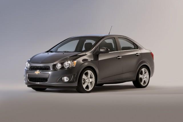 La Chevrolet Sonic... (Photo fournie par General Motors)