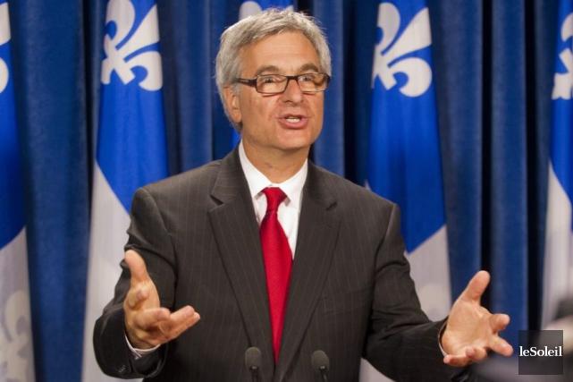 Jean-Marc Fournier, ministre responsable des Affaires intergouvernementales canadiennes... (Photothèque Le Soleil)