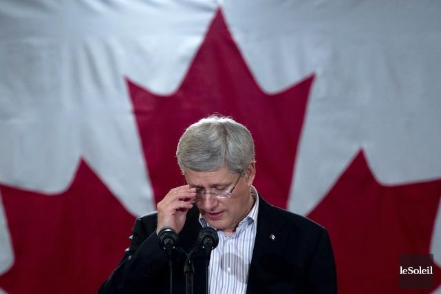 Le premier ministre canadien Stephen Harper... (Photothèque Le Soleil)