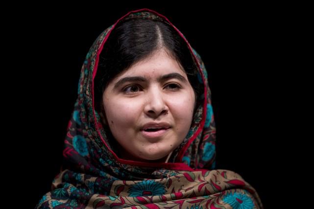 La jeune activiste Malala Yousafzaia reçu le prix... (PHOTO OLI SCARFF, AFP)