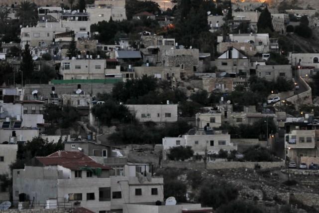 Le dernier incident en date à Jérusalem-Est a... (Photo AFP)