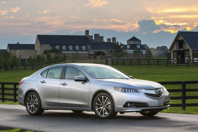 La nouvelle Acura TLX est proposée avec une... (Photo fournie par Acura)