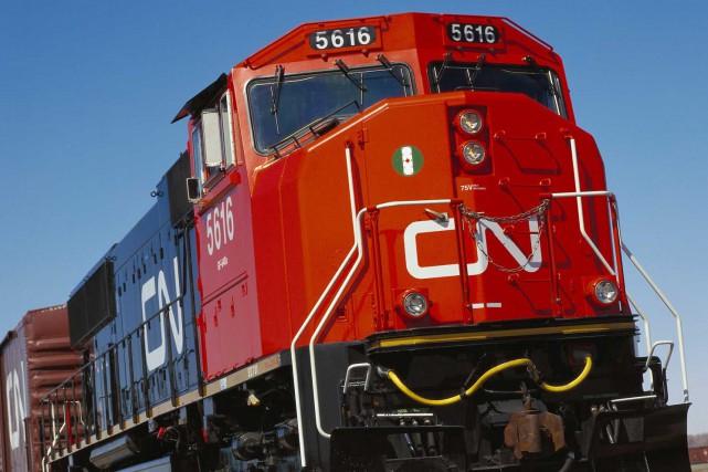 La Compagnie des chemins de fer nationaux du Canada investira 100 millions $ de... (PHOTO ARCHIVES REUTERS)