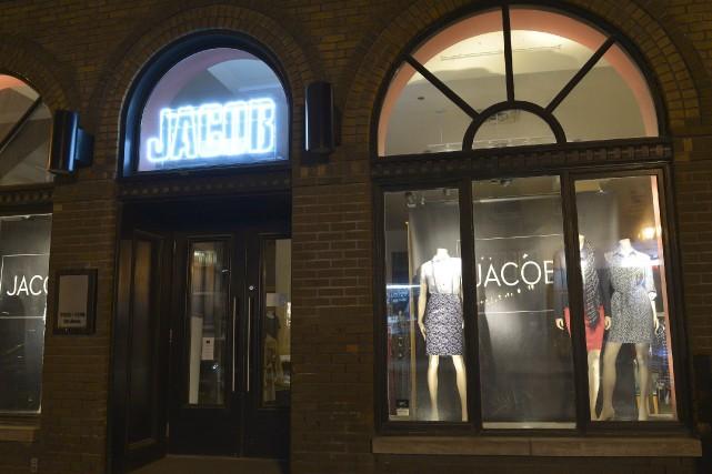 La chaîne montréalaise de magasins de mode féminine... (Photothèque Le Soleil, Yan Doublet)
