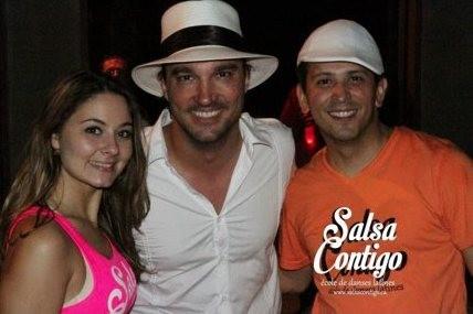 Camille Nogaret et Ivan Salazar, de l'école Salsa... ((Courtoisie))