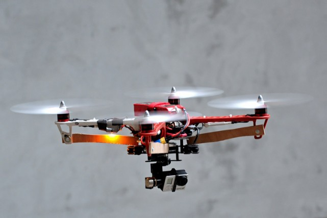 Autrefois limité à l'utilisation militaire, les drones peuvent... (Photo: AFP)