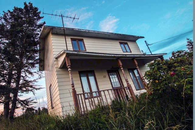 La maison familiale de Gilles Vigneault...