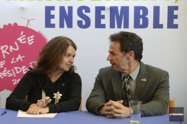 Suzanne Roy, présidente de l'Union des municipalités du... (Photo: Sylvain Mayer Le Nouvelliste)