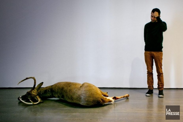 La Biennale de Montréal propose une multitude d'oeuvres... (Photo: Marco Campanozzi, La Presse)