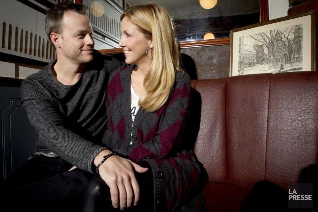 Il en a rêvé, elle l'a fait. Le couple chéri des Québécois fera ses premiers... (Photo: Olivier Jean, La Presse)