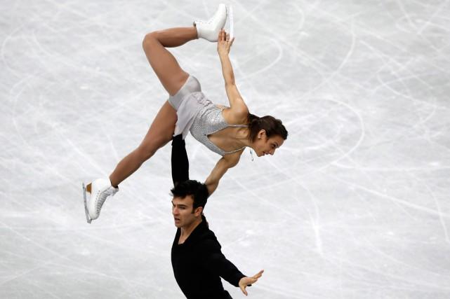 Du groupe de neuf patineurs médaillés d'argent en... (Photo Toru Hanai, archives Reuters)
