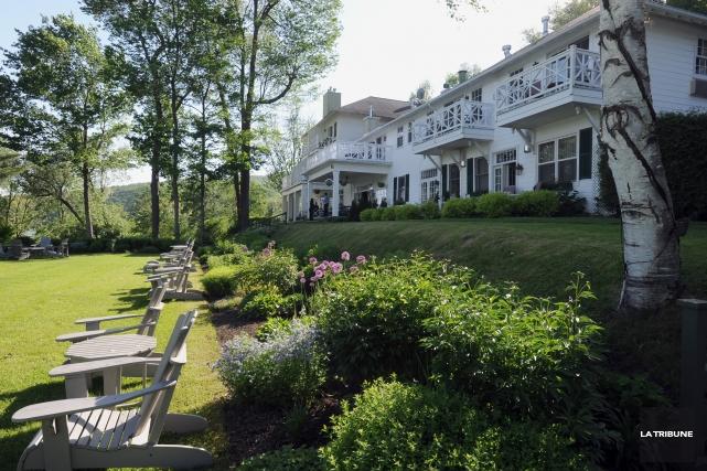 Le Manoir Hovey est au sommet de la liste des meilleurs hôtels de l'est du... (Archives La Tribune, Claude Poulin)