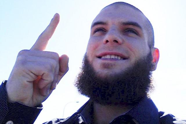 Martin Couture-Rouleau a tué l'un de deux militaires... (PHOTO TIRÉE DE FACEBOOK)