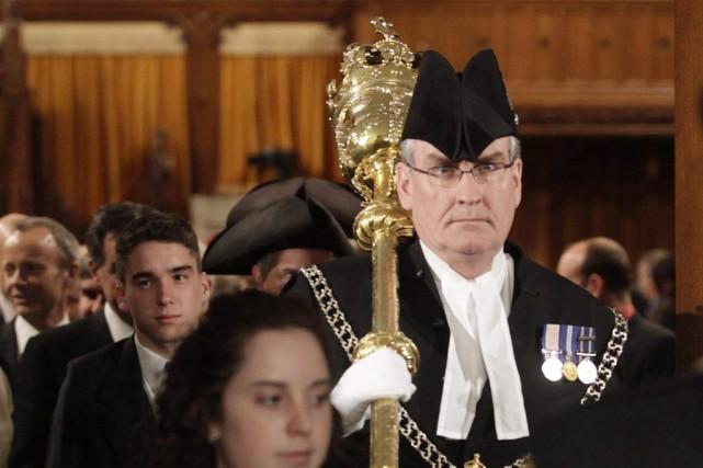 Le sergent d'armes Kevin Vickers a présumément abattu... (PHOTO PAWEL DWULIT, ARCHIVES LA PRESSE CANADIENNE)