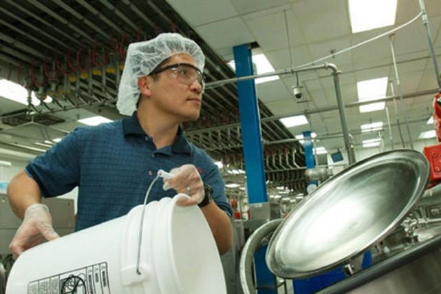 KDC, entreprise québécoise qui fabrique des produits de soins personnels en... (Photo tirée du site de KDC)