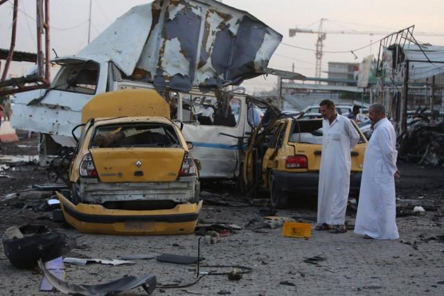 Bagdad reste pour le moment hors de leur... (PHOTO AHMAD AL-RUBAYE, ARCHIVES AFP)