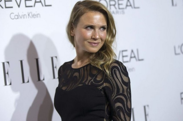 Renée Zellweger lors de son apparition lundi à... (Photo: Reuters)