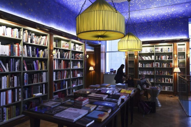 La librairie Albertine... (Photo: AFP)