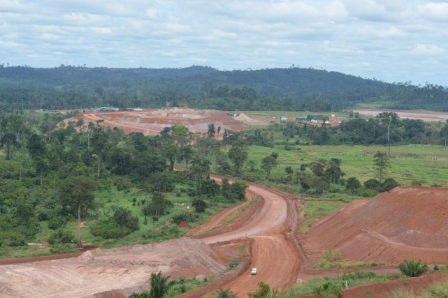 L'activité minière ne représente pas plus de 5%... (PHOTO ISSOUF SANOGO, AFP)