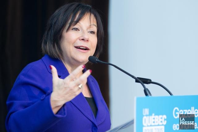 Élaine Zakaïb a quitté la politique le 29... (Photo Edouard Plante-Fréchette, archives La Presse)