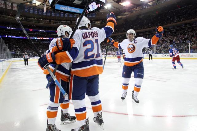 Malgré deux défaites d'affilée, les Islanders ont un... (Photo Brad Penner, USA Today Sports)