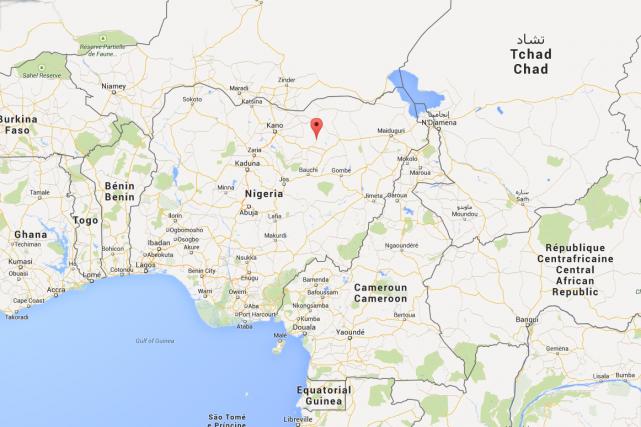 L'État de Bauchi est l'une des régions les... (Photo Google Maps)