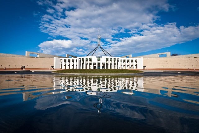 Le Parlement australien... (Photo Ian Waldie, Bloomberg)