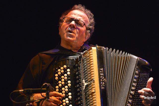 Ceux qui ont encore des préjugés contre l'accordéon... (Photo Le Soleil, Yan Doublet)