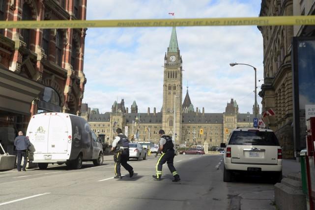 Une fusillade a fait deux morts et deux... (Photo: La Presse Canadienne)