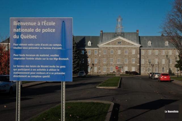 L'École nationale de police du Québec a resserré... (Photo: François Gervais, Le Nouvelliste)