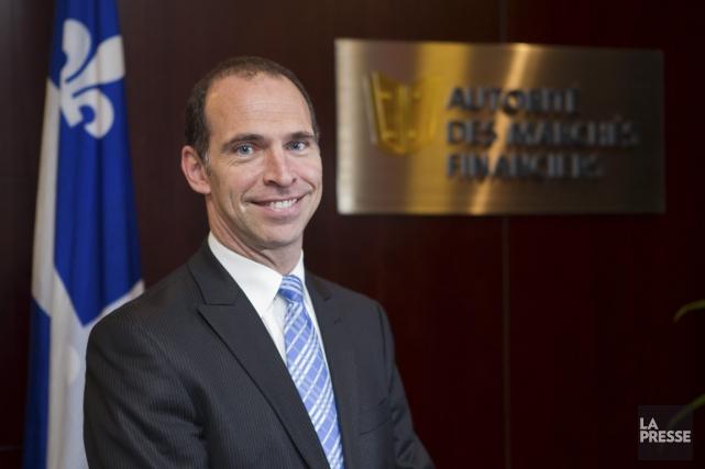 Sylvain Théberge, porte-parole de l'AMF... (PHOTO ÉDOUARD PLANTE-FRÉCHETTE, ARCHIVES LA PRESSE)