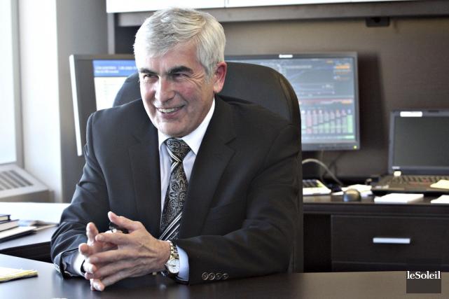 Clément Gignac, vice-président principal, économiste en chef et... (PHOTO PASCAL RATTHÉ, ARCHIVES LE SOLEIL)