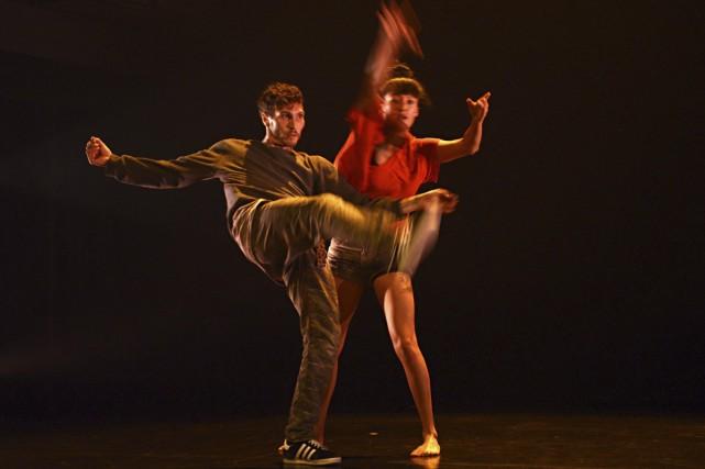 Elon Höglund et Emmanuelle Lê Phan de la... (Photo: Sandra Lynn Belanger, fournie par Danse Danse)