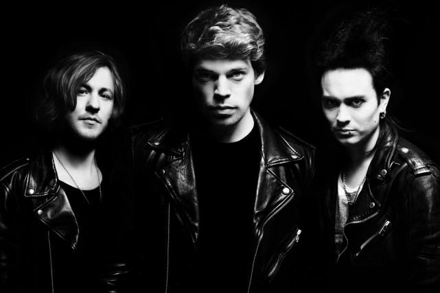 Aron Mellergårdh, Jonah Nilsson et Henrik Linder forment... (Photo: fournie par le groupe)