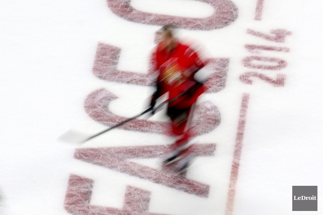 La Ligue nationale de hockey a reporté le... (Photo Patrick Woodbury, Le Droit)