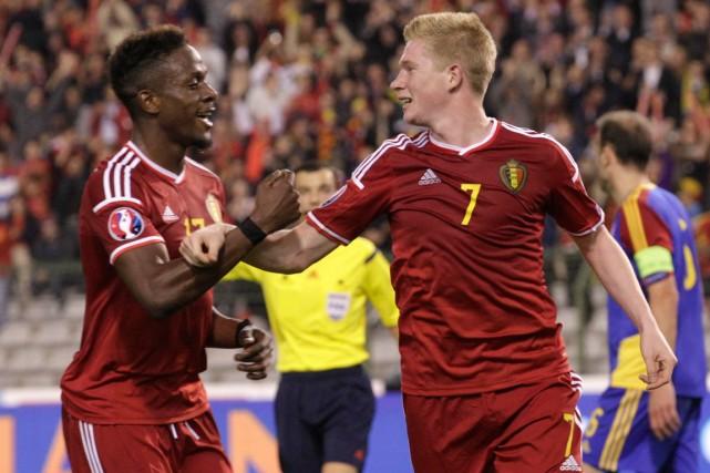 La Belgique a remporté une victoire de 6-0... (Photo Yves Logghe, AP)
