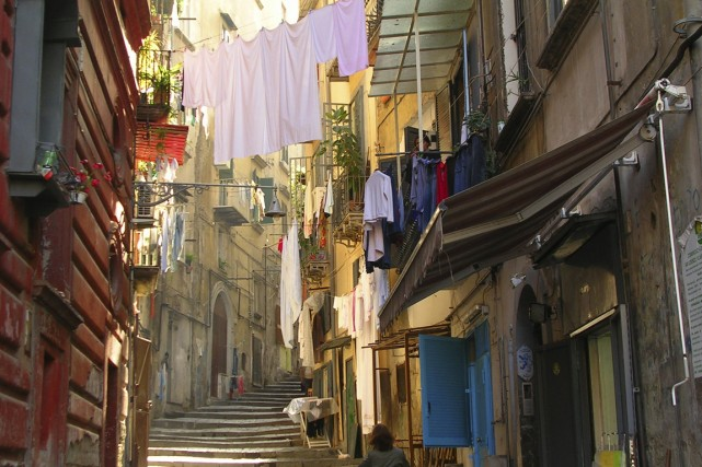 Naples n'est pas une ville où on se... (Photo Digital/Thinkstock)
