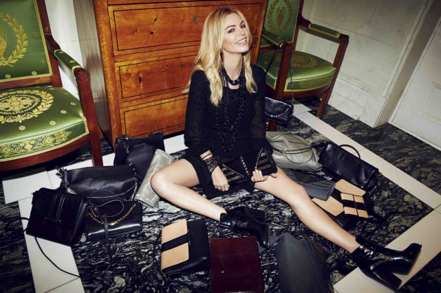 Caroline Néron lance jeudi sa première collection de...