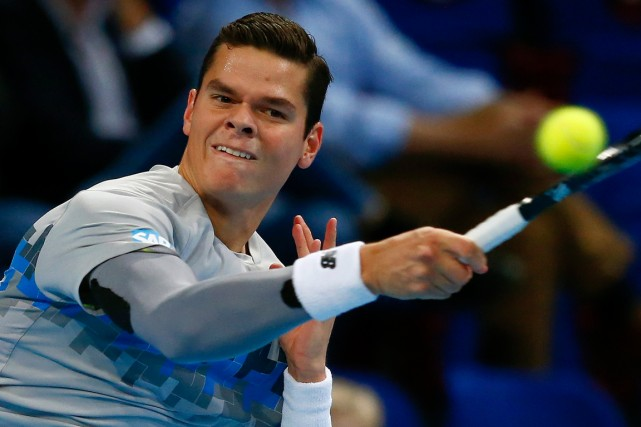 Milos Raonic... (Photo Arnd Wiegmann, Reuters)