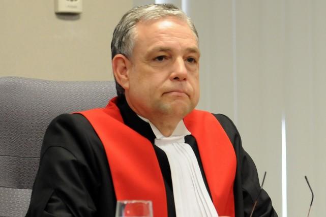 Le juge Michel Boudreault, de la Cour du... ((Archives))