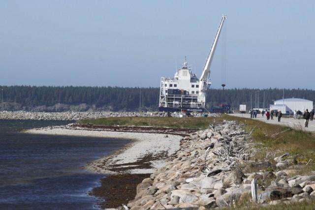 Hydrocarbures Anticosti, qui détient 38 permis d'exploration d'hydrocarbures... (Photo Archives AFP)
