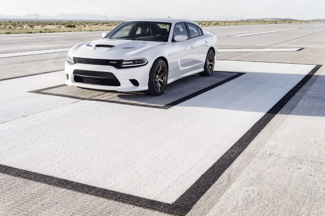 Le Dodge Charger Hellcat 2015... (Photo fournie par Dodge)