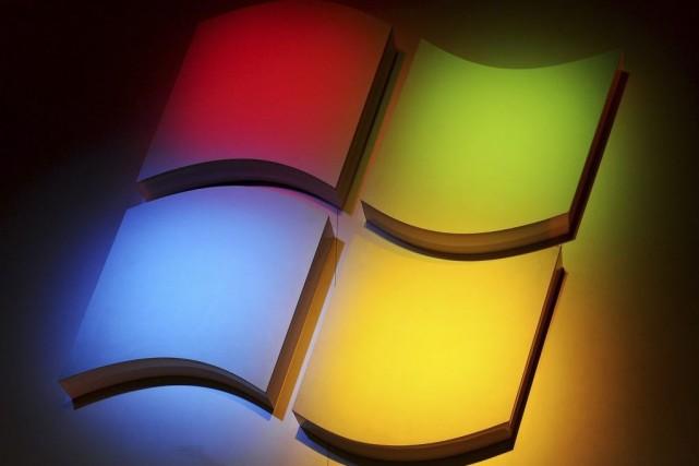 Le géant des logiciels Microsoft (MSFT)cueille les fruits de... (PHOTO ROBYN BECK, ARCHIVES AFP)