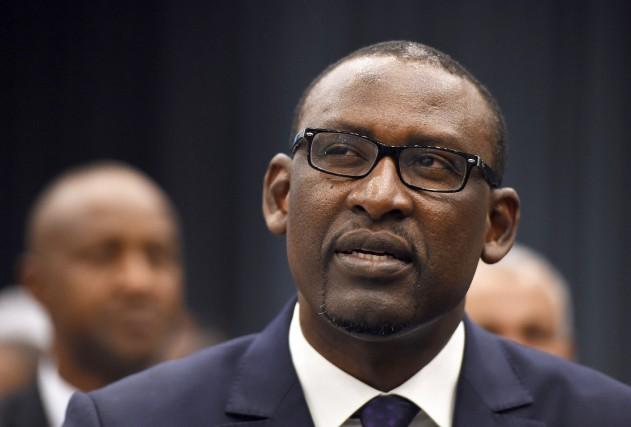 Le ministre des Affaires étrangères malien,Abdoulaye Diop... (Photo archives AFP)
