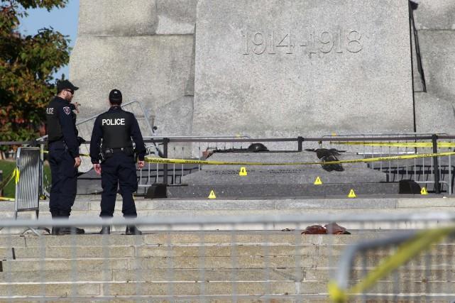 Le Canada a été secoué cette semaine par deux événements tragiques. Le meurtre... (Photo Blair Gable, Reuters)