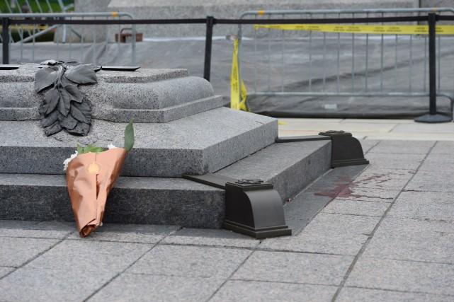 Avant même qu'on identifie le tueur de Nathan... (Photo Sean Kilpatrick, La Presse Canadienne)
