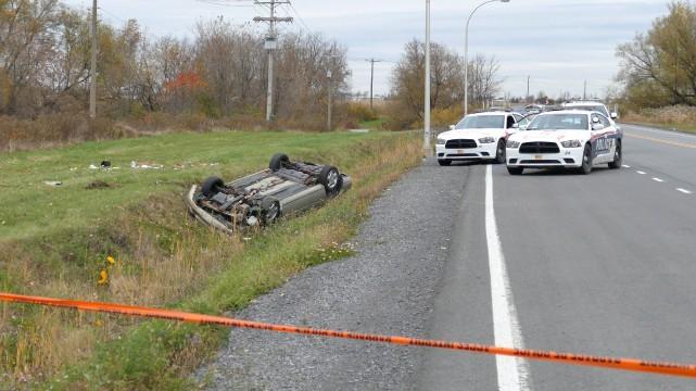 Au lendemain des événements de Saint-Jean-sur-Richelieu et d'Ottawa, les... (Photo Pascal Marchand, La Presse Canadienne)