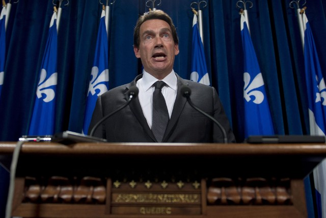 Le député du PQ, Pierre Karl Péladeau... (Photo Jacques Boissinot, La Presse Canadienne)