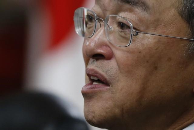 Le nouveau ministre japonais de l'Industrie, Yoichi Miyazawa... (Photo ISSEI KATO, Reuters)