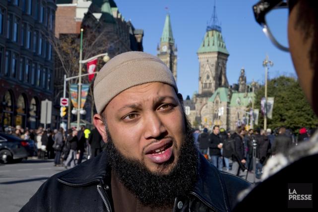 Sikander Hasmi, imam à Ottawa, a déposé une... (PHOTO ALAIN ROBERGE, LA PRESSE)